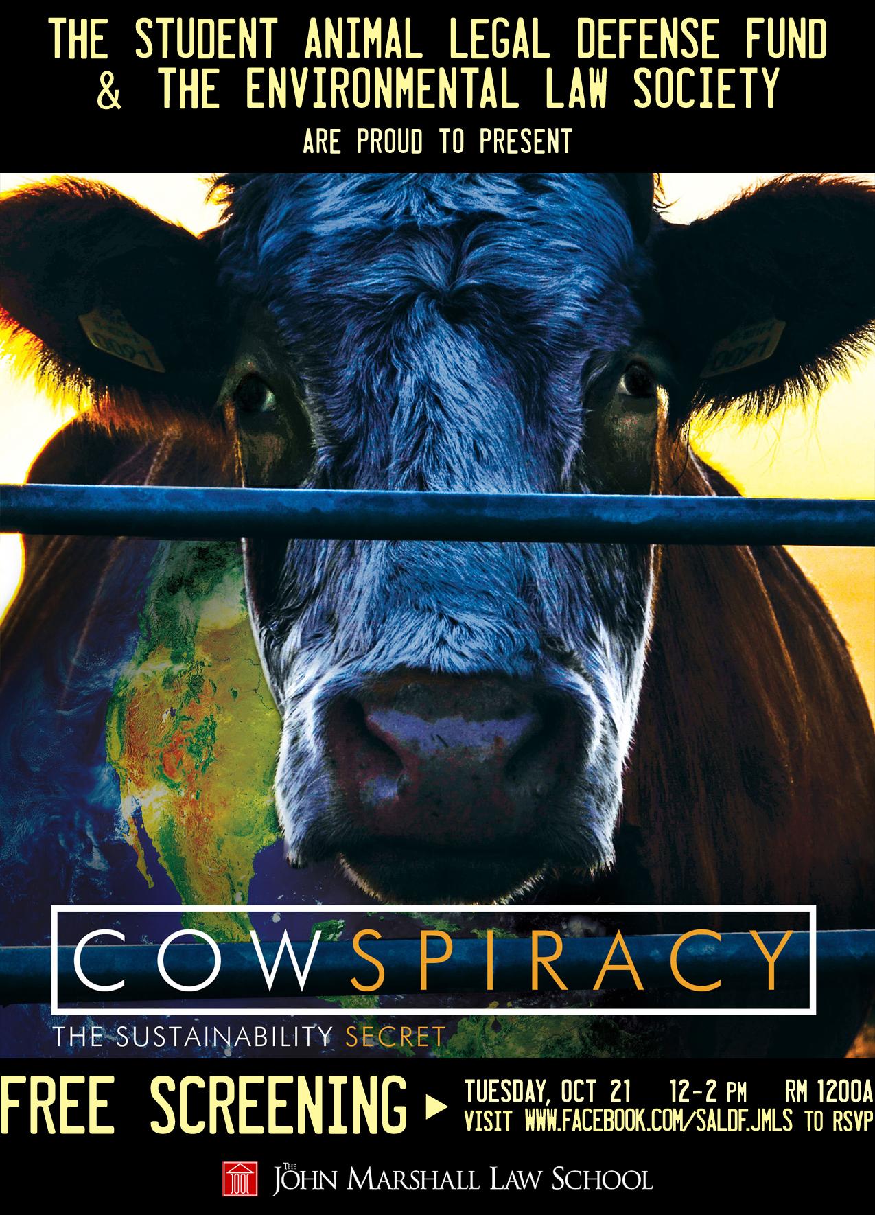 cowspiracy flyer